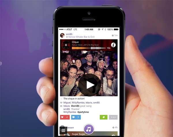 Snippit, envía fotos con sonido desde iPhone