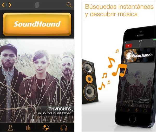 SoundHound crea listas de reproducción en Spotify con las