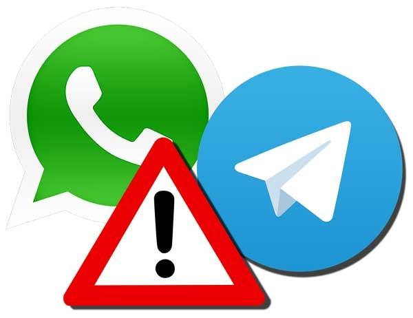 WhatsApp y Telegram, víctimas de su propio éxito