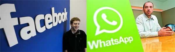 Facebook Whatsapp infomración
