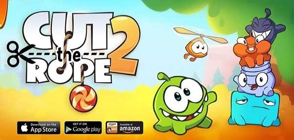 Cut the rope 2 ya está disponible gratis para Android