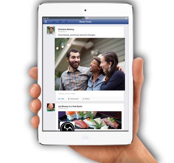 Facebook para iPhone ahora permite compartir fotos a lo Snapchat