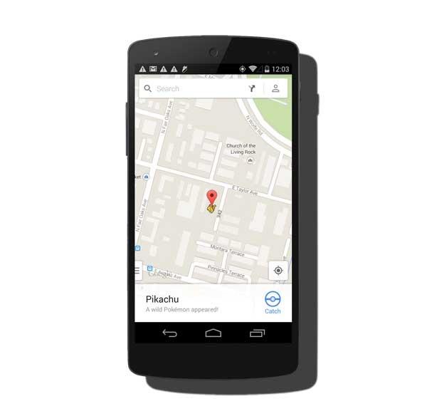 Captura Pokémon en la nueva versión de Google Maps