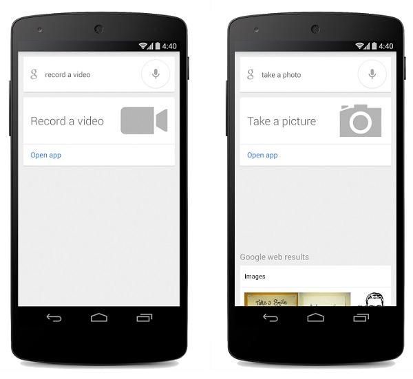 Google Search se actualiza con una función para sacar fotos y vídeos con la voz