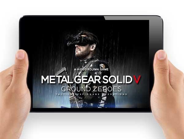 Metal Gear Solid V: Ground Zeroes, la app compañera para disfrutar de este juego