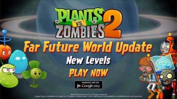 Plantas vs Zombies 2 estrena un nuevo y futurista episodio