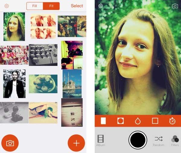 apps selfies