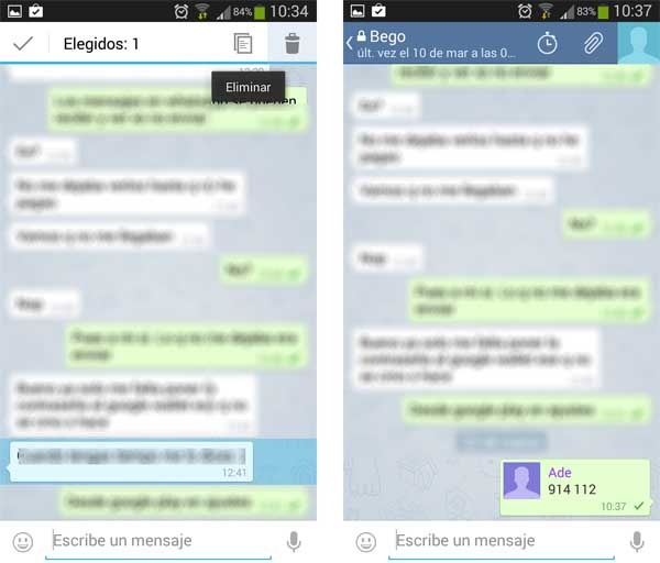 telegram borrar chats secretos