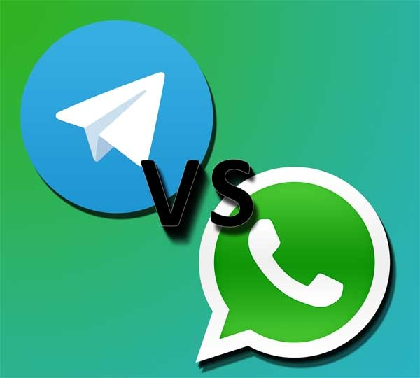 Las 5 grandes diferencias entre WhatsApp y Telegram