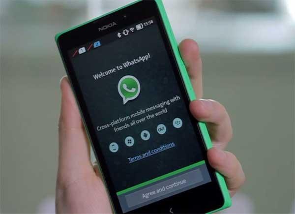 Cómo instalar WhatsApp en el Nokia X