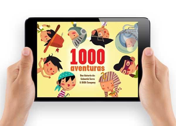 1000 Aventuras, un libro interactivo para los más pequeños