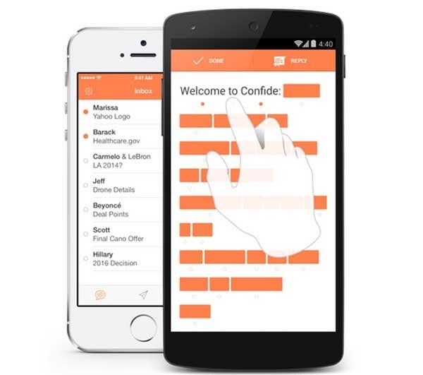 Confide, la app de mensajes secretos aterriza en Android
