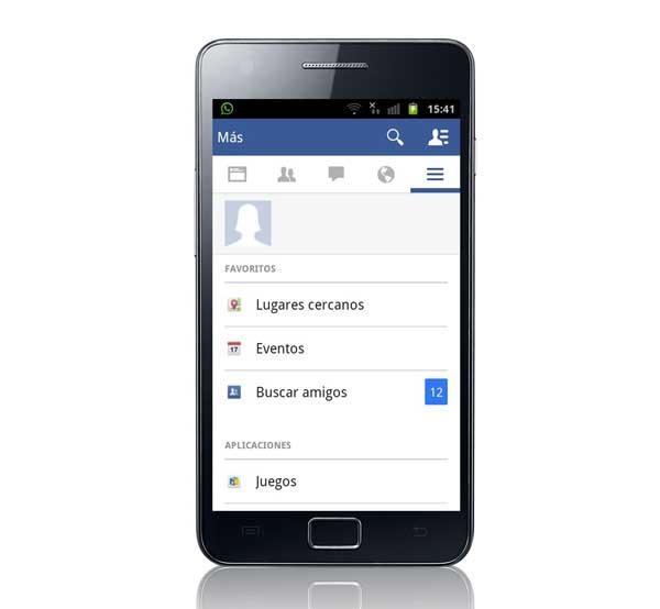 Facebook sigue probando su nuevo diseño con más usuarios en Android