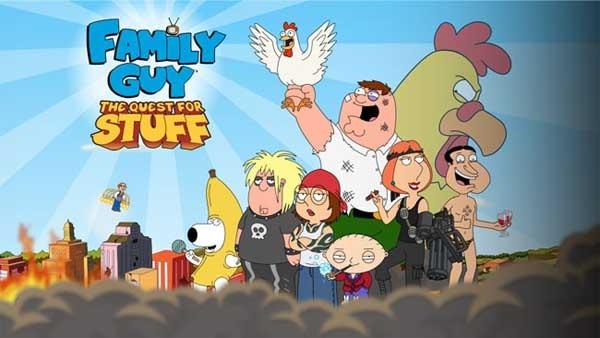 Family Guy: en búsqueda de cosas, construye una ciudad al estilo Los Simpsons