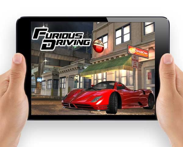 Furious Driving, un frenético juego de conducción gratis para móviles