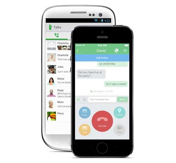 Talkray, una app de mensajería y llamadas muy completa