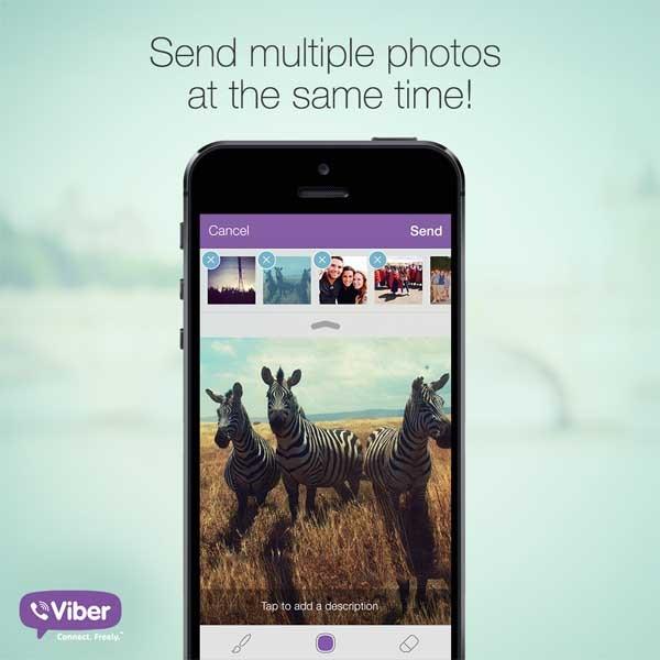 Viber adopta un nuevo aspecto y funciones para iPhone y iPad ...