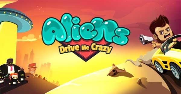 Aliens Drive Me Crazy, un alocado juego de conducción y plataformas