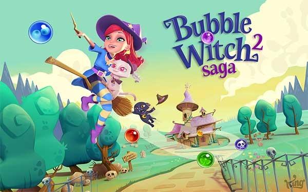 Bubble Witch Saga 2, el nuevo juego de los creadores de Candy Crush Saga