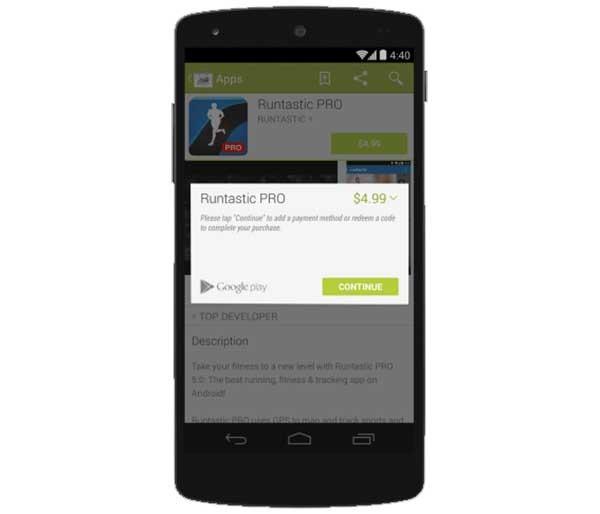 Google Play comienza a permitir el pago de apps con PayPal