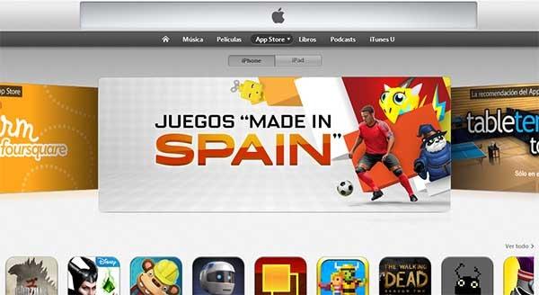 La App Store ya tiene una sección para los juegos Made in Spain