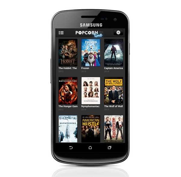 Popcorn Time, las películas gratis a través de Internet llegan a Android