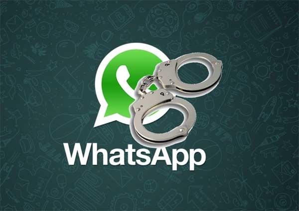 detenido app espía
