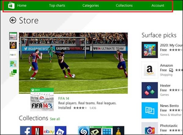 windows store actualizada