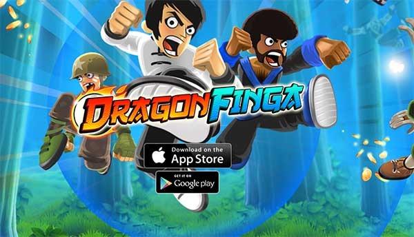 DragonFinga, un juego de artes marciales que se controla con un solo dedo
