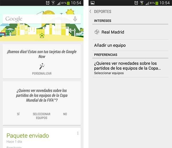 google now mundial