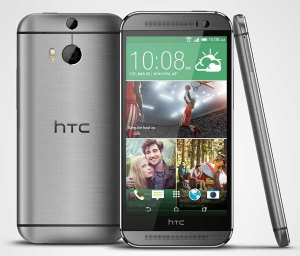HTC One M8, listado de apps que vienen instaladas por defecto