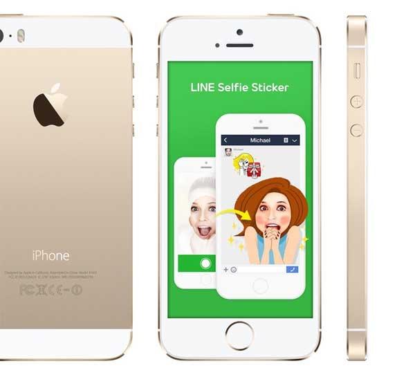 LINE Selfie Sticker, crea tus propias pegatinas con una autofoto