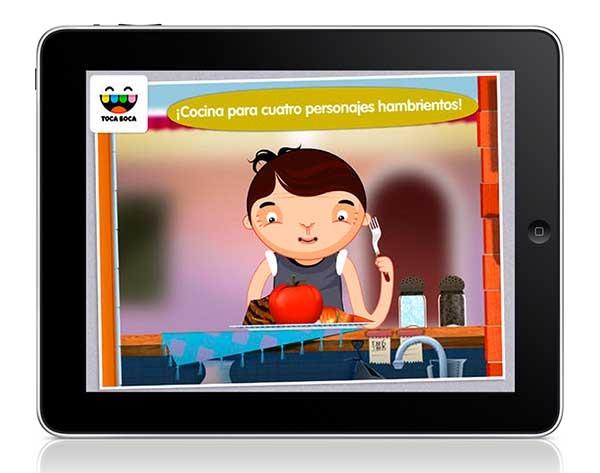 Toca Kitchen, juega a preparar comidas en tu móvil o tableta