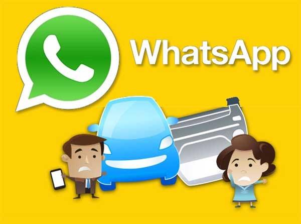 WhatsApp, un problema a la hora de conducir