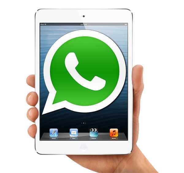 WhatsApp contará con una aplicación para iPad