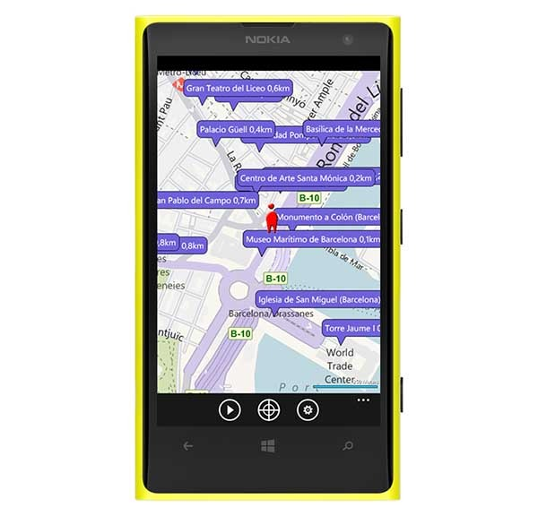 Wiki Talking Tours, una completa audioguía mundial para Windows Phone