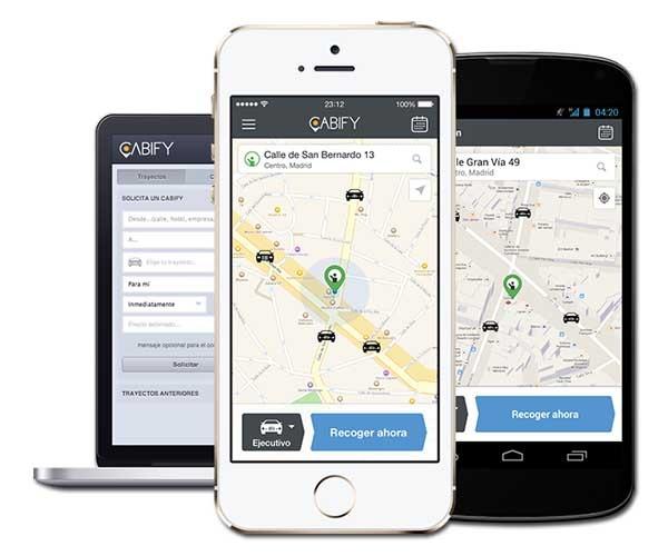 Cabify, transporte privado más barato que un taxi