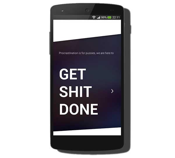Get Shit Done, evita perder el tiempo para tus tareas con esta app