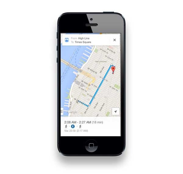 Google Maps se actualiza para iPhone con mejoras visuales