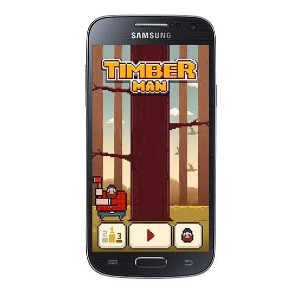 Timberman, un juego adictivo que sigue la estela de Flappy Bird