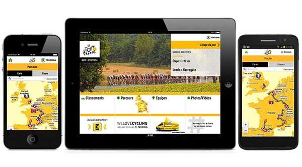 Cómo seguir El Tour de Francia 2014 desde el móvil