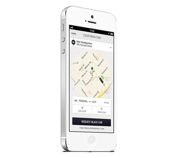 Uber ahora también funciona como transporte privado para empresas