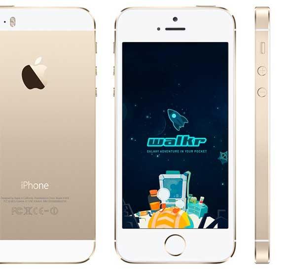 Walkr, un juego gratuito para ponerte en forma con tu iPhone