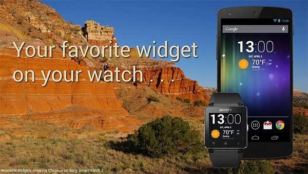 wearable widget