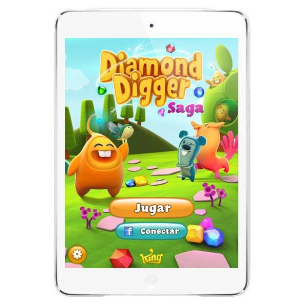 Diamond Digger Saga, nuevo juego de King para iOS y Android