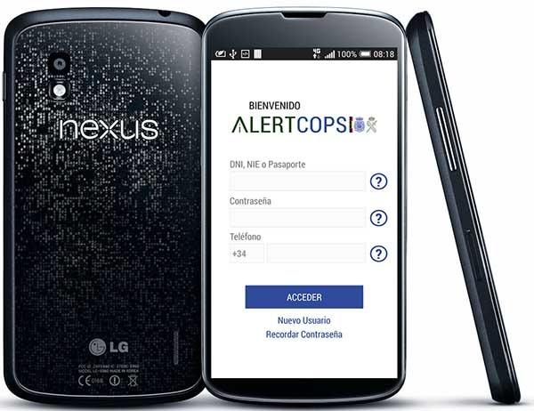 AlertCops, denuncia delitos desde el móvil con esta app