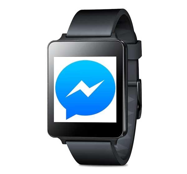 Facebook Messenger ya permite responder mensajes desde los relojes Android Wear