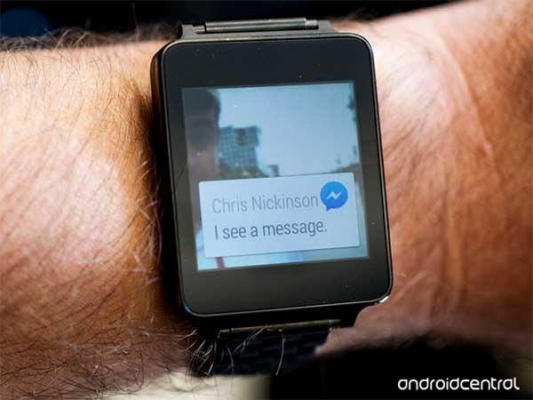 facebook messenger android wear