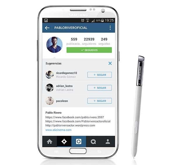 Instagram ahora sugiere perfiles a los que seguir al estilo Twitter