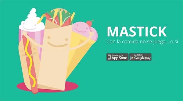 Mastick, reta la inteligencia de tus amigos jugando con la comida